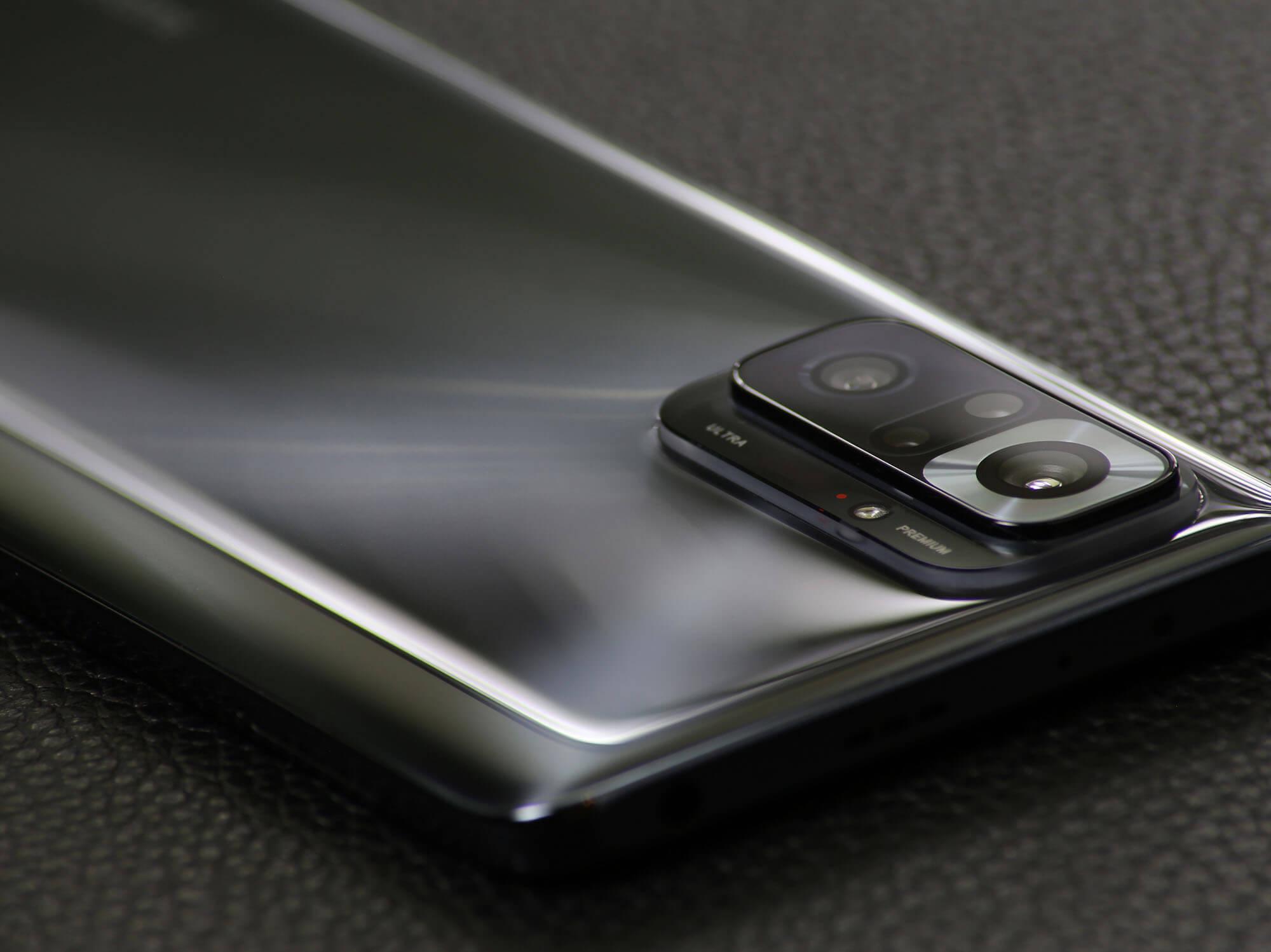高性能故に物理的にやや目立ってしまうRedmi Note 10 Proのカメラ