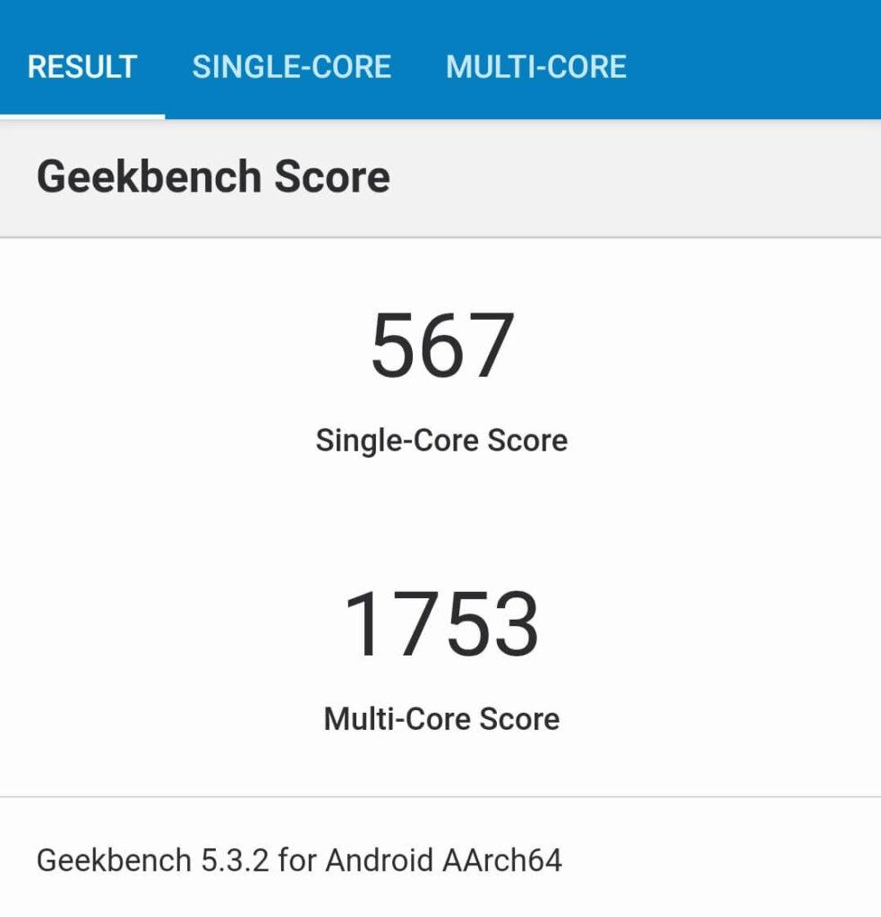 Redmi Note 9SのCPU性能