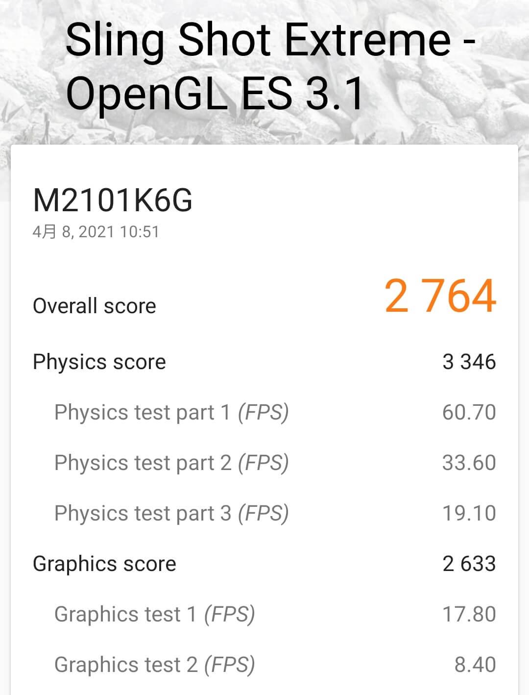 Redmi Note 10 ProのGPU性能