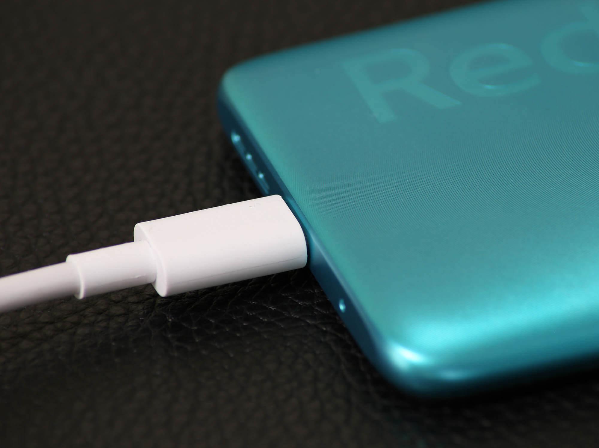 Redmi 9Tは最大18Wの急速充電に対応