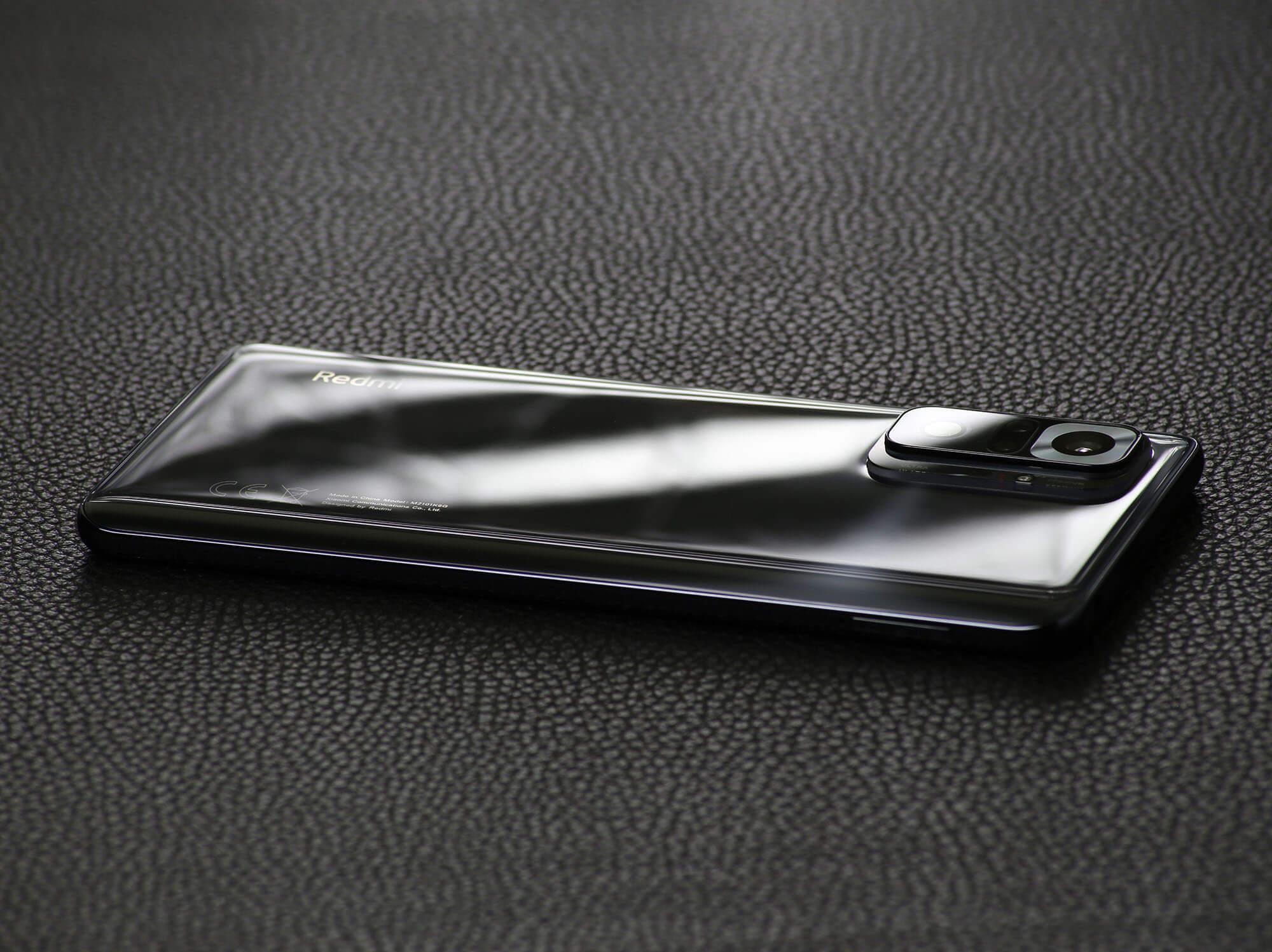 Redmi Note 10 ProはMi Note 10 Lite、Mi Note 10と比較しても見劣りしない高級感