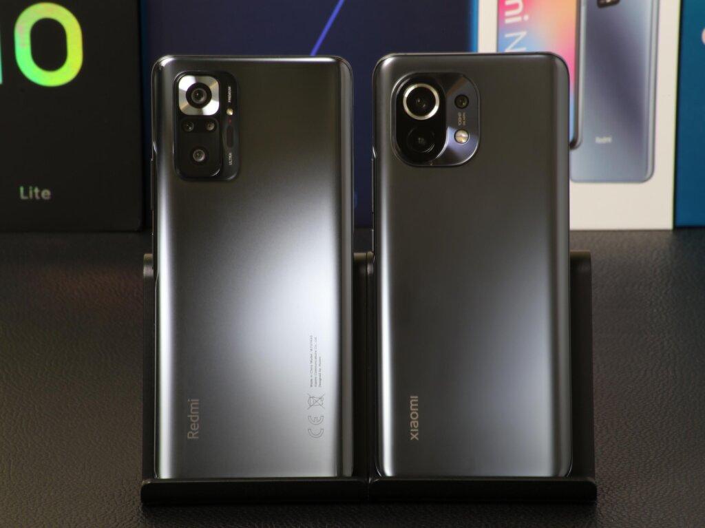 3万円台で購入出来るRedmi Note 10 Proと8万円台の最上位モデルMi 11のカメラ画質を比較