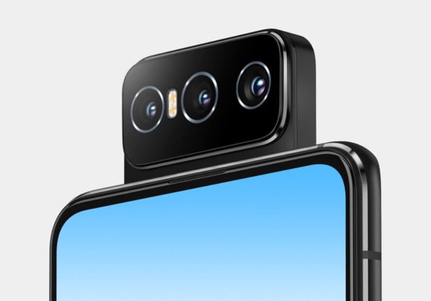 Zenfone 8 Flipはトリプルフリップカメラ採用