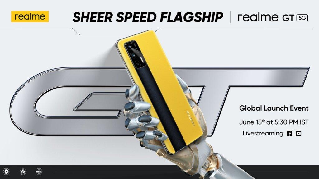 Reakme GT 5G グローバルリリース