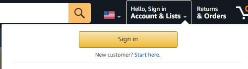 Amazon.comに登録する方法1