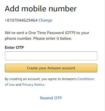 Amazon.comに登録する方法8