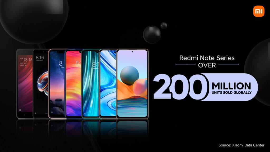 Redmi Noteシリーズ2億台突破