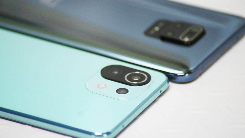 Mi 11 Lite 5GとRedmi Note 9S