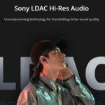 LDAC対応イヤフォン