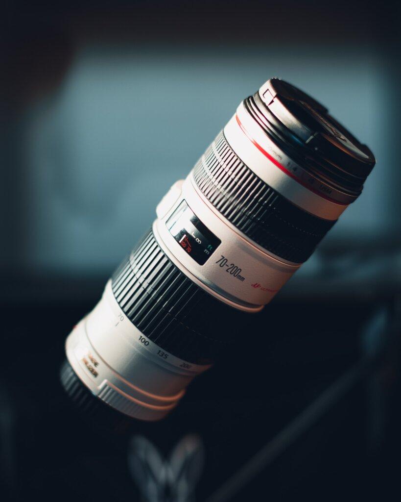 一眼レフ用望遠レンズ