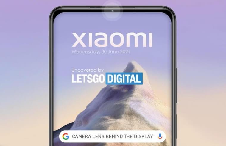 Xiaomi新特許