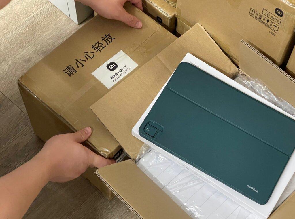 Mi Pad 5のキーボード付きケース