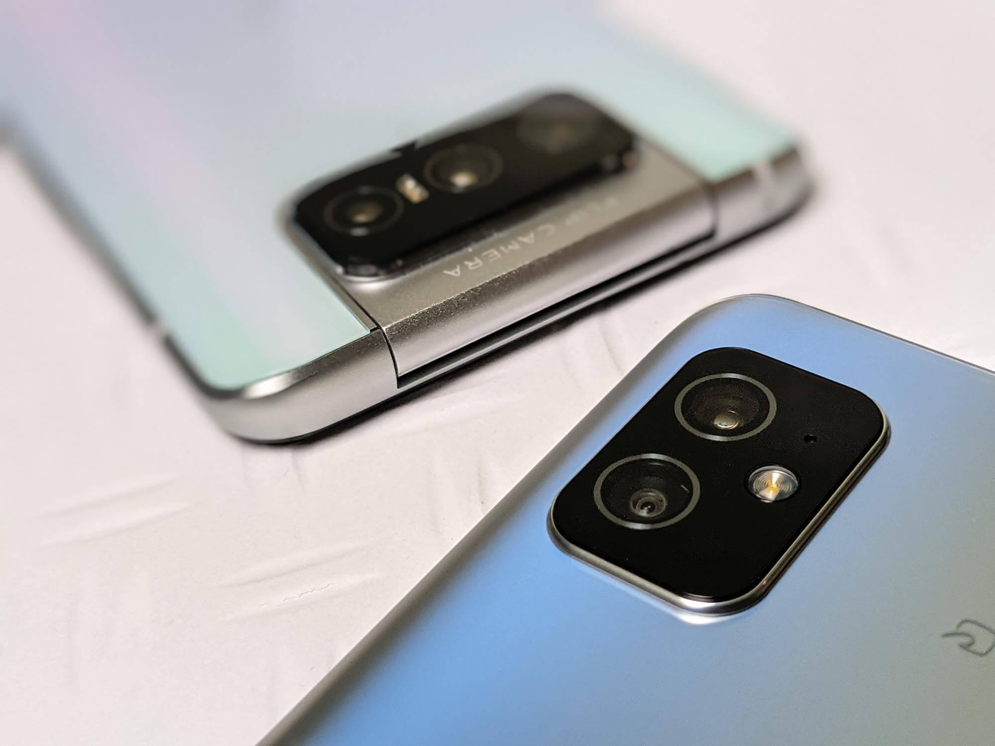 Zenfone 8とZenfone 7