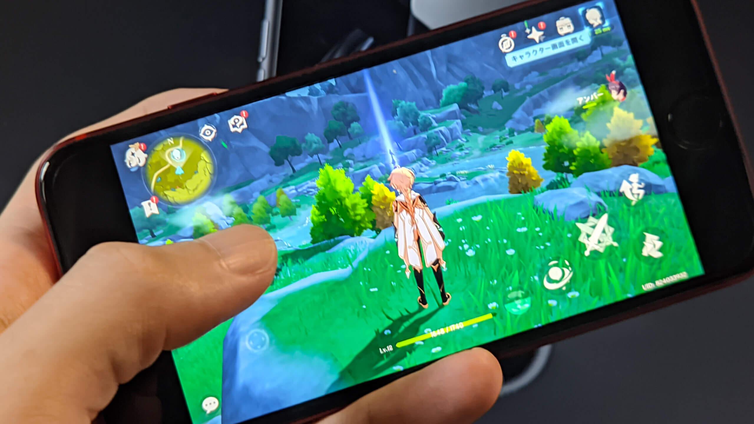 ゲーム性能がとてつもなく高いiPhone
