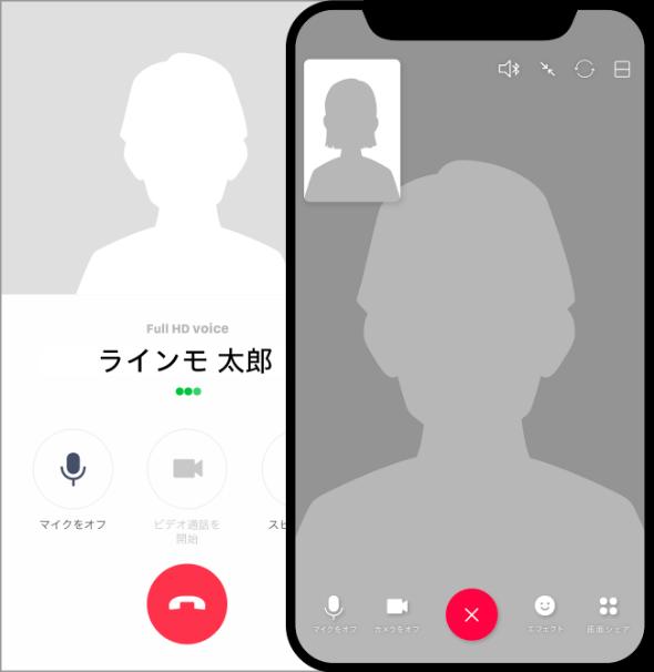 ビデオ通話の通信量ゼロ
