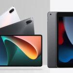 Xiaomi Pad 5とiPad第9世代比較