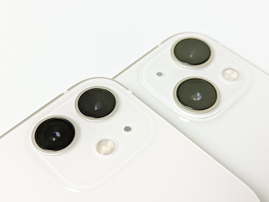 iPhone 12 miniとiPhone 13