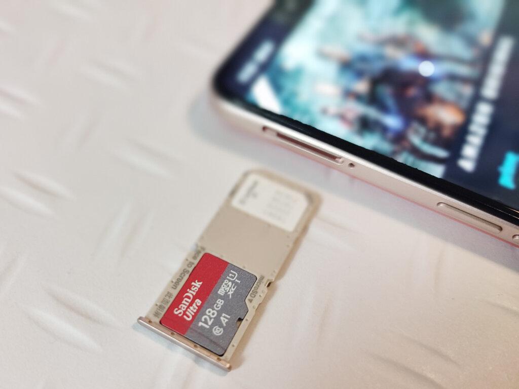 Micro SDカード対応
